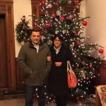 Maksud Abdullaev mit Frau