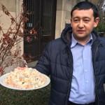 """Murad mit dem Salat """"Olivje"""""""