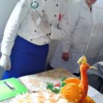 Ibadullo, Student des Sergeli Gastronomie Kollegs, der uns geholfen hat, das Nawruz Fest im März 2014 in Bonn vorzubereiten