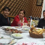 Abendessen auf die Einladung der Stadt Buchara