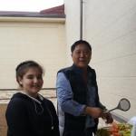 Unser Hobbykoch Alexander. Abschiedsessen in der usbekischen Familie in Taschkent