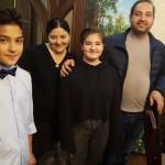 Unsere Gastgeber. Abschiedsessen in der usbekischen Familie in Taschkent