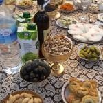 Abschiedsessen in der usbekischen Familie in Taschkent