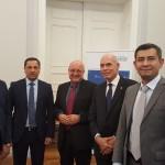 Mit der Delegation der Freundschaftsgesellschaft Usbekistan Deutschland aus Taschkent