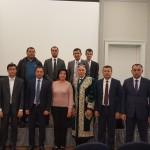 Mit der Delegation der Freundschaftsgesellschaft Usbekistan-Deutschland aus Taschkent