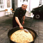 Vielen Dank an den Koch der Usbekischen Botschaft für den leckeren Plov