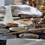 In der Keramik Handwerkfamilie