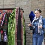 Taschkent. Unsere Reiseführerin Kristina