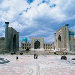 Registan Platz, Samarkand