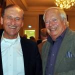 Dieter Brandenburger, Vize-Präsident der DUsG (l.) und Peter Kern, Mitglied der DUsG