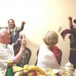 Abendessen in der usbekischen Familie, Chiwa