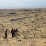 In der Wüste Ayaz Kala