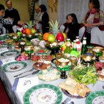 Reise nach Usbekistan im 2014: Abendessen in einer usbekischen Familie in Taschkent