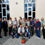 Mit unseren Begleiterinnen und Begleiter: usbekische Studentinnen und Studenten