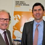 Rechts: Stefan Wagner, Leiter des Amtes für Internationales und Globale Nachhaltigkeit, Stadt Bonn