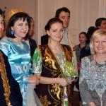 Unsere Gäste aus Taschkent: Delegation der Usbekisch-Deutschen Freundschaftsgesellschaft. Rechts: Galina Astaschova, Geschäftsführerin der Freundschaftsgesellschaft