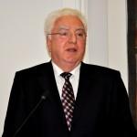 Herr Dr. Wolf Bauer, Präsident der Deutsch-Usbekischen Gesellschaft