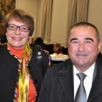 Frau Dr. Maria Hohn-Berghorn, Stadt Bonn und Herr Urinov, Hokim der Stadt Buchara