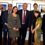 Delegation der Stadt Buchara, Herr Stefan Wagner, Stadt Bonn und usbekische Studentinnen