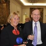 Frau Huberta Kern und Herr Dieter Brandenburger, Vize-Präsident der Deutsch-Usbekischen Gesellschaft