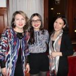 Unsere treuen Mithelferinnen Alfia, Ziyoda und Nodira