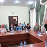 Treffen mit der Geschäftsführung der Usbekisch-Deutschen Freundschaftsgesellschaft in Taschkent