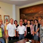 Reise nach Usbekistan im 2013: Treffen mit dem Hokim der Stadt Buchara