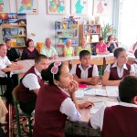 Reise nach Usbekistan im 2013: Im der Schule Nr. 4 in Buchara
