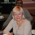 Frau Galina Astaschova, Geschäftsführerin der Usbekisch-Deutschen Freundschaftsgesellschaft