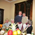 Abendessen in der Familie in Taschkent