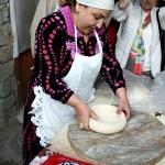 Besuch einer Backstube, Samarkand