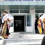 Begrüßung im Sergeli Gastronomie Kolleg, Taschkent