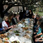 """Abschiedsabendessen, von der Freundschaftsgesellschaft """"Usbekistan Deutschland"""" organisiert"""