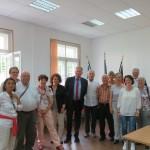 Treffen mit dem Botschafter der Bundesrepublik Deutschland S.E. Günter Overfeld