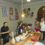 Besuch der Keramik Handwerker