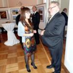 Unsere Mitglieder: Shahlo Khalilova und Herr Willi Pütz