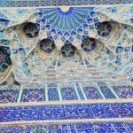 Klassische Ornamente in Samarkand
