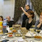 Abendessen in der usbekischen Familie