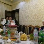 Abendessen in der usbekischen Familie, organisiert von der Freundschaftsgesellschaft Usbekistan Deutschland